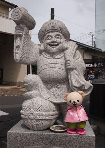 恵比須さんとパチリ☆