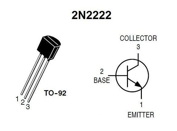 pin oleh aman bharti di 2n2222 transistor pin configuration di 2019 Diode Pin Diagram