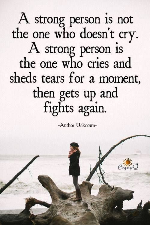 A Strong Person Quote