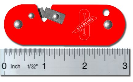 Sterling Sharpener | Tungsten Carbide Pocket Knife Sharpener
