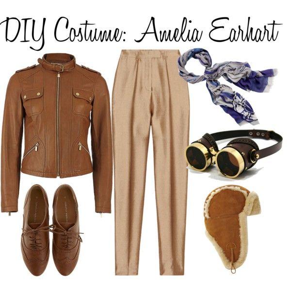 DIY Costume: Amelia Earhart