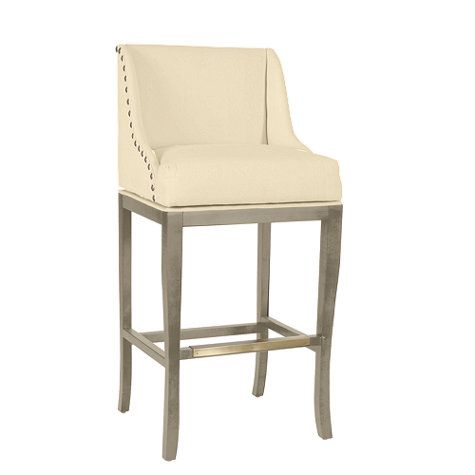Marcello Barstool With Pewter Nailhead Trim Price 524 00