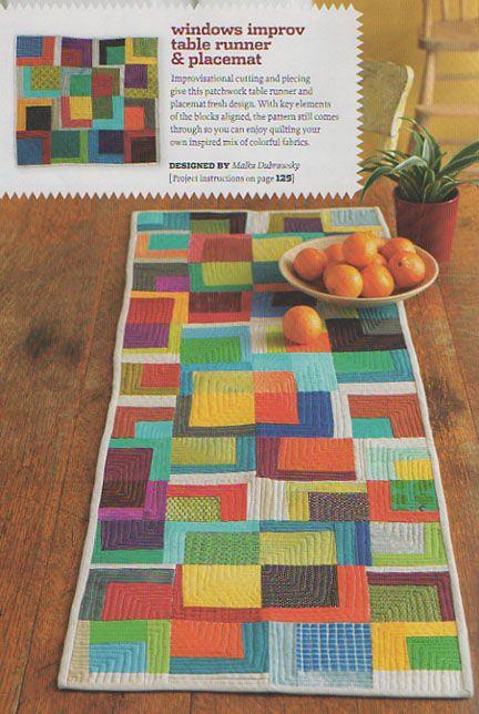 Improvisational patchwork - Google Improvisational Patchwork