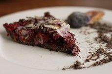 Makovo švestkový koláč  /Poppy plum cake/  Bezlepkový a nízkosacharidový zdravý recept /Gluten free and low carb healthy recipe/