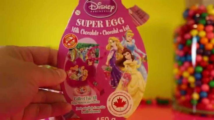 Kinder Surprise Princesses and Dora the Explorer and Elmo