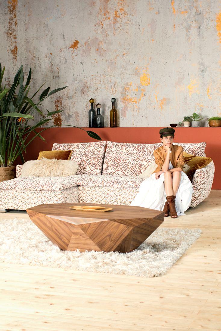 Design Sofa Von Bretz Polstermobel Entworfen Mit Freigeist