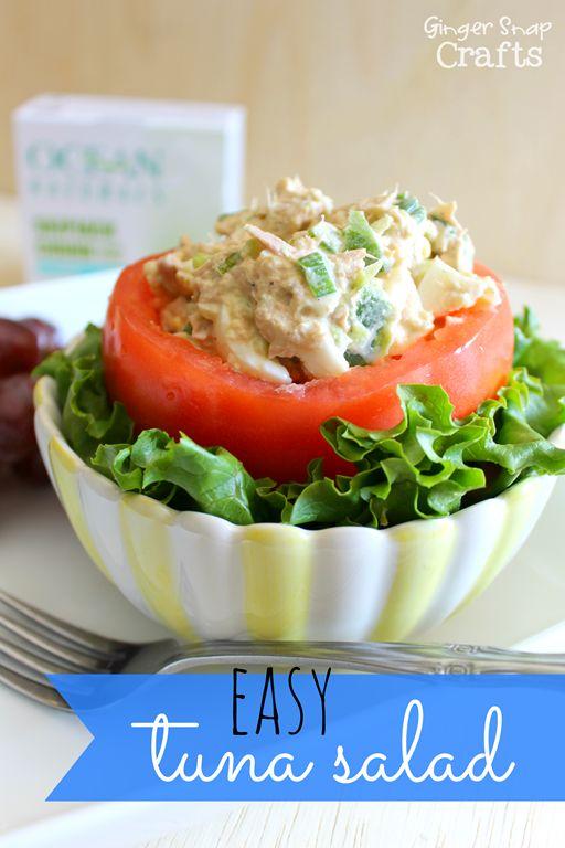 Easy Tuna Salad Recipe From