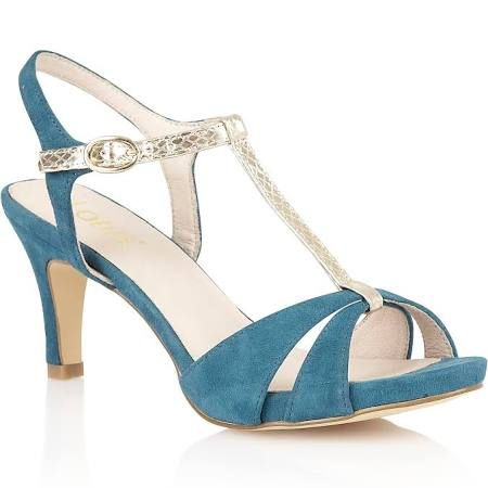 blue peep toe shoes - Google Search