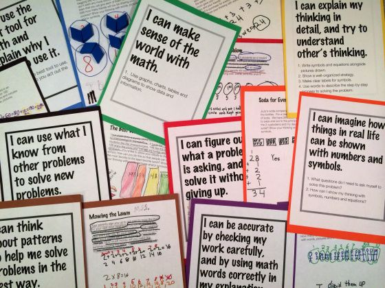 Build A Strong Math Culture With The Standards For Math Practice (Blog Post) Dig into the math practice standards to create a strong and positive math culture. Math needs to be a learning subject that can be messy and precise, all at the same time!