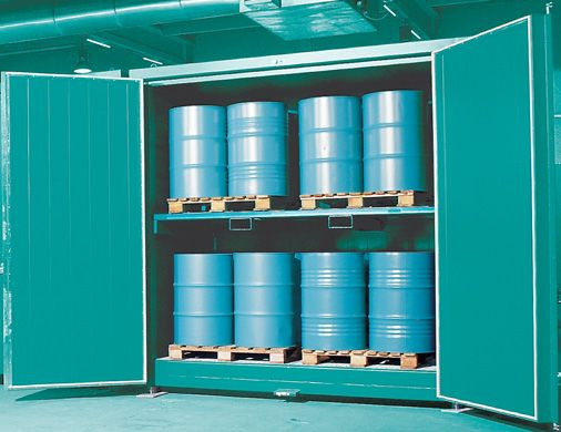Alter-eco Containers en depots Opslagcontainers G. Thermisch geïsoleerde container