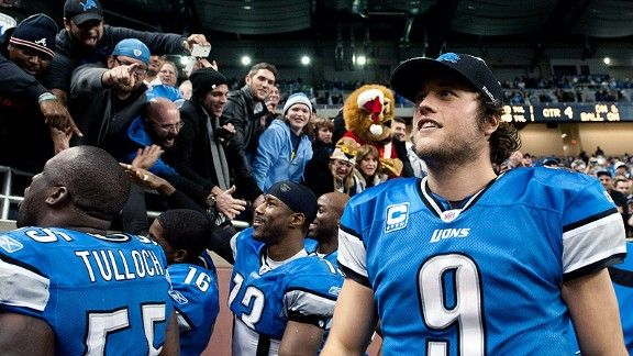 Great article on Matthew Stafford and the rise of the Detroit Lions.