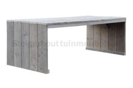 40 best images about tuintafels on pinterest tes rustic dining tables and side tables - Plastic tuintafel ...