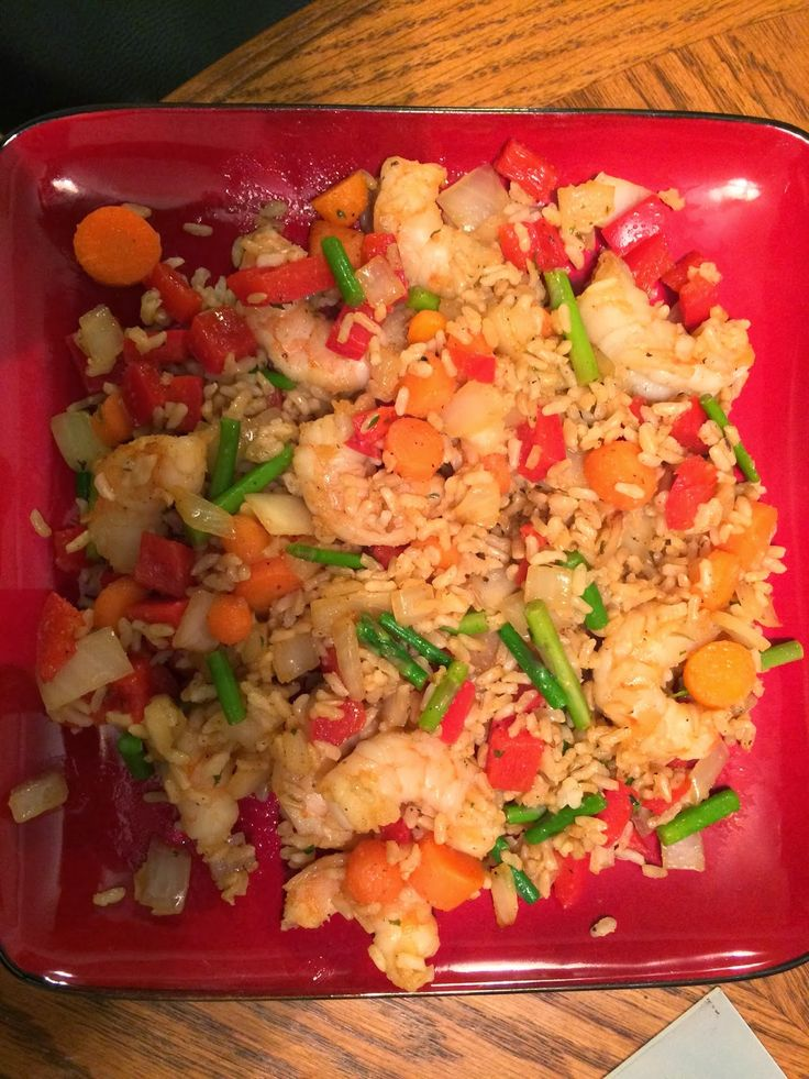 Crafty FIT Chick: Shrimp Fried Rice Recipe - 21 Day Fix