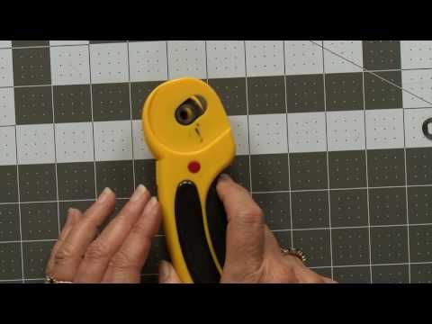 How to Change a Rotary Cutter Blade - YouTube