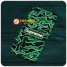 supremeファッションブランドiPhone7ケース夜光マット素材浮き彫りアイフォン7plusハード携帯カバーおしゃれ男女