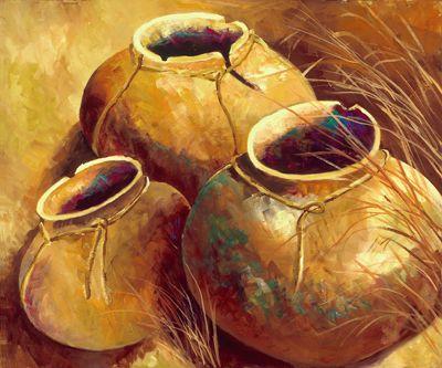 """""""Ancestry Pots"""" ... by Joyce Dodd"""