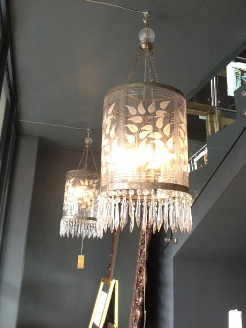 lamp, chandeliers