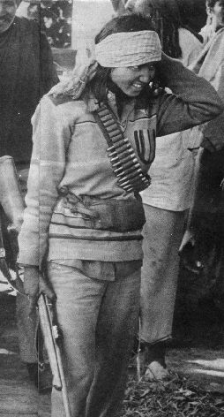 Phoolan Devi - the Bandit Queen of India in the early 1980