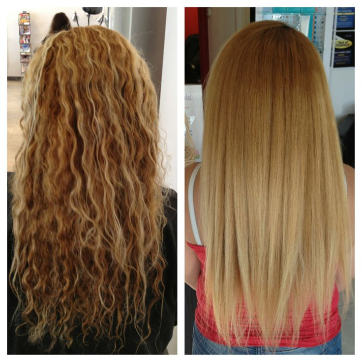 Keratin treatment before and after beautiful work at for Salon kerat in