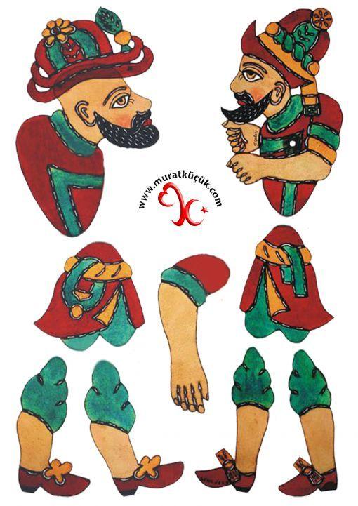 karagöz & hacivat - traditional Turkish Ramadan Figures