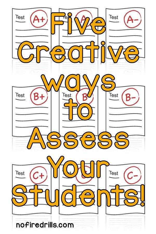 New ways for teachers to assess without traditional tests.