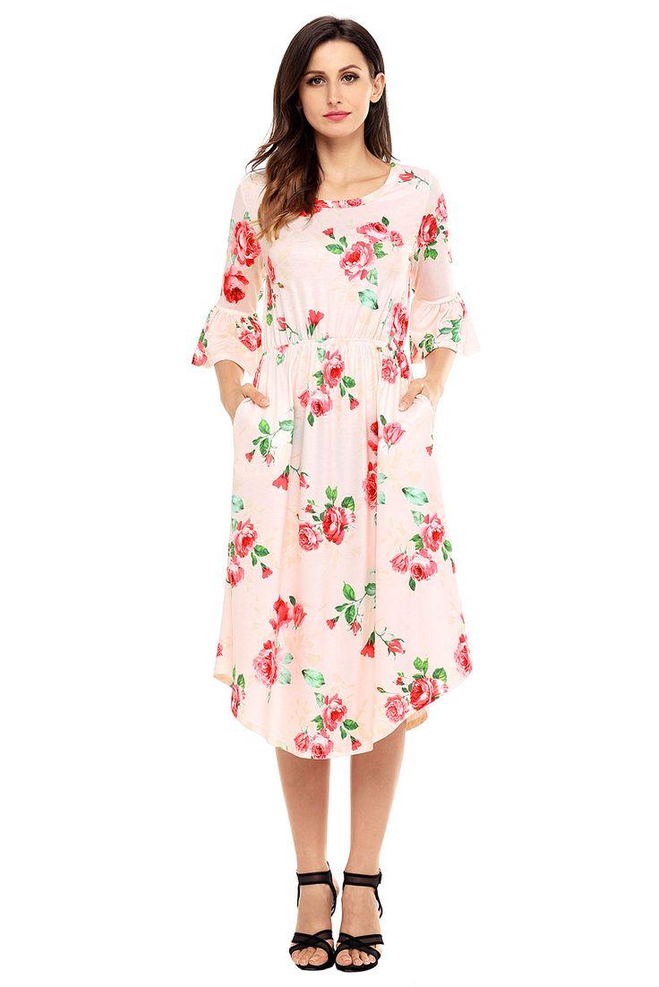 50 best Boho Dresses images on Pinterest   Lange kleider, Bedruckte ...