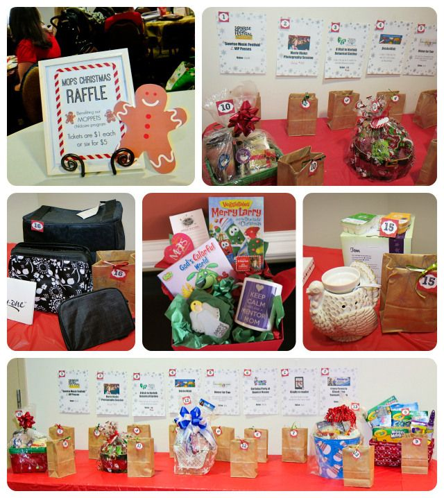 Charming Christmas Party Raffle Ideas Part - 2: Our MOPS Christmas Raffle 2014