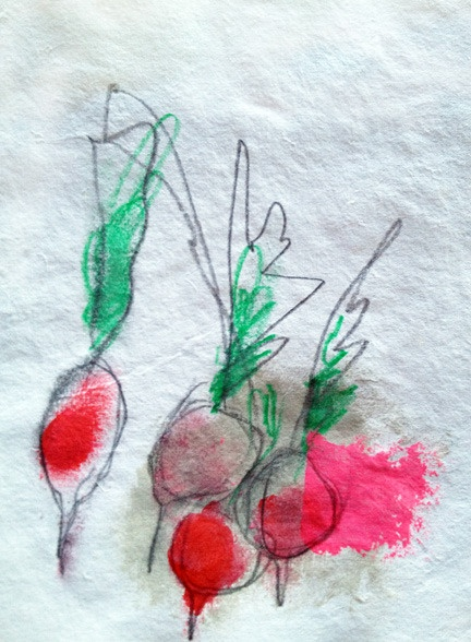 Image of little kitchen drawings- milk farm road