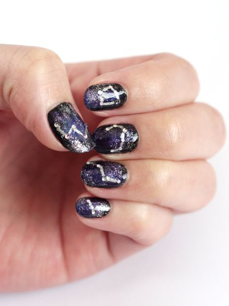 261 best images about to the edge vbs 2015 on pinterest for Outer space nail design
