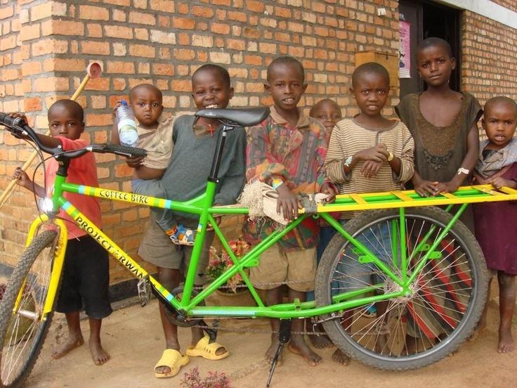 Rwanda coffee bike