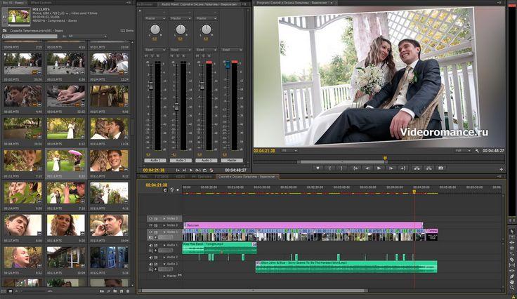 Как мы монтируем свадебное видео