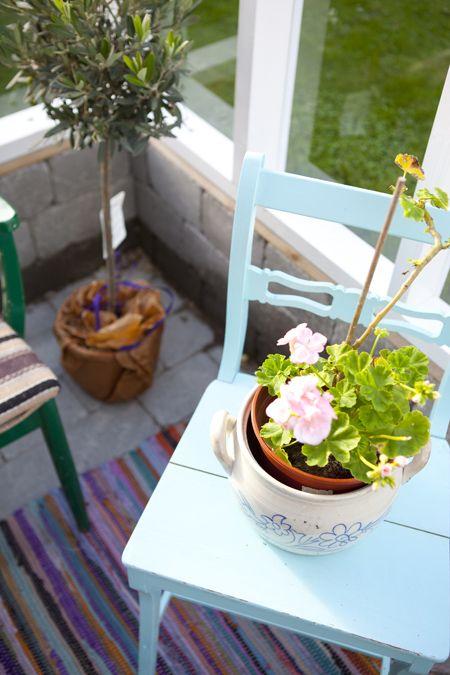 Hildas hem: Växthuset – en plats att njuta