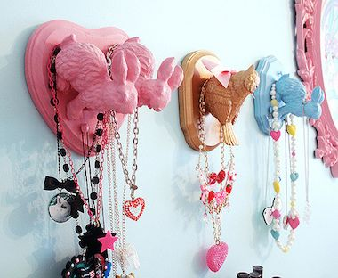 Taxidermy air   You     ll    Diy Jewelry bubble DIY Make Faux Organizers Want Taxidermy and to trainer Jewelry  with free