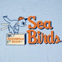 Jacksonville Beach Sea Birds 1954 T Shirt