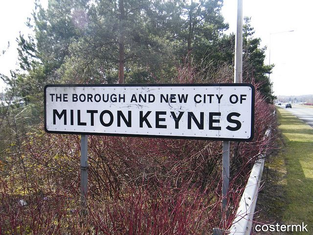 Welcome To MIlton Keynes - The borough and new city by costermk, via Flickr