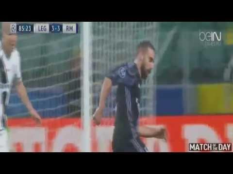 Amazing Goal Mateo Kovacic Legia vs Real Madrid 3 3 Champions League 02 ...
