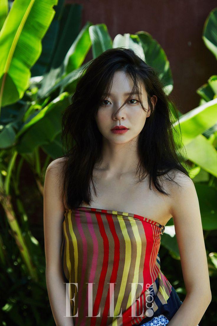 이솜(李絮 Esom)  Esom - Elle Magazine May Issue '16