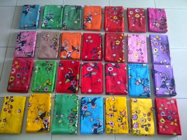 kain batik tulis aneka warna