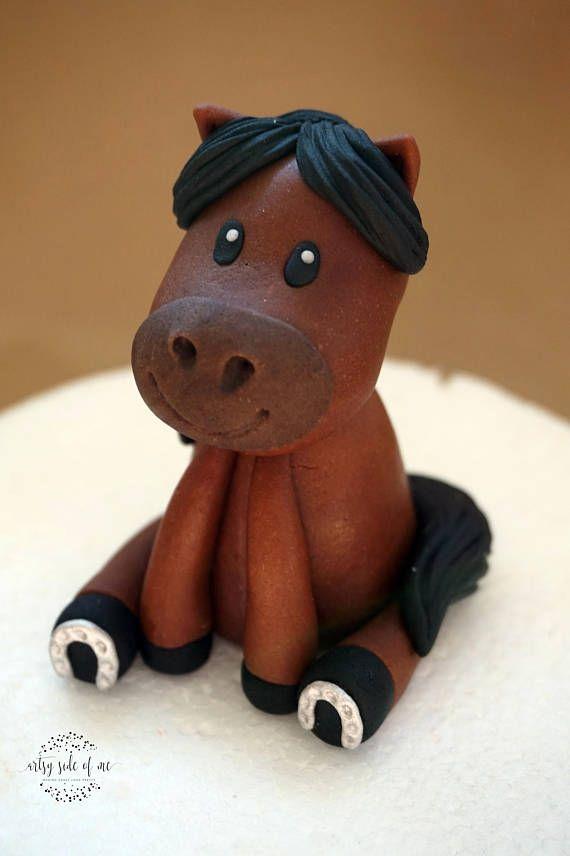 Fondant horse cake topper fondant farm animals farm cake