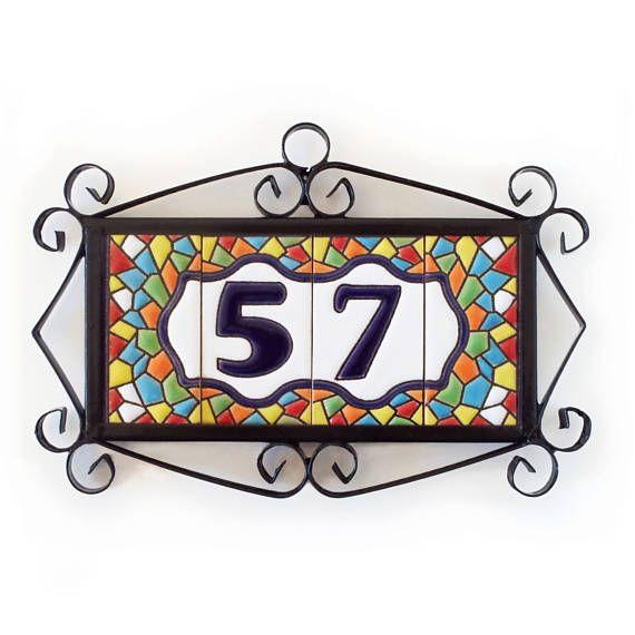 Dirección personalizada número personalizado dirección número
