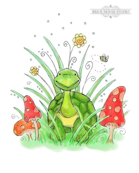 Turtle art - I like the feel of this.