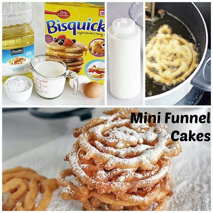 Gluten Free Funnel Cake Bisquick