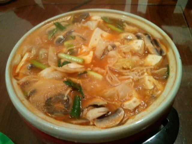 배추 버섯 찌개