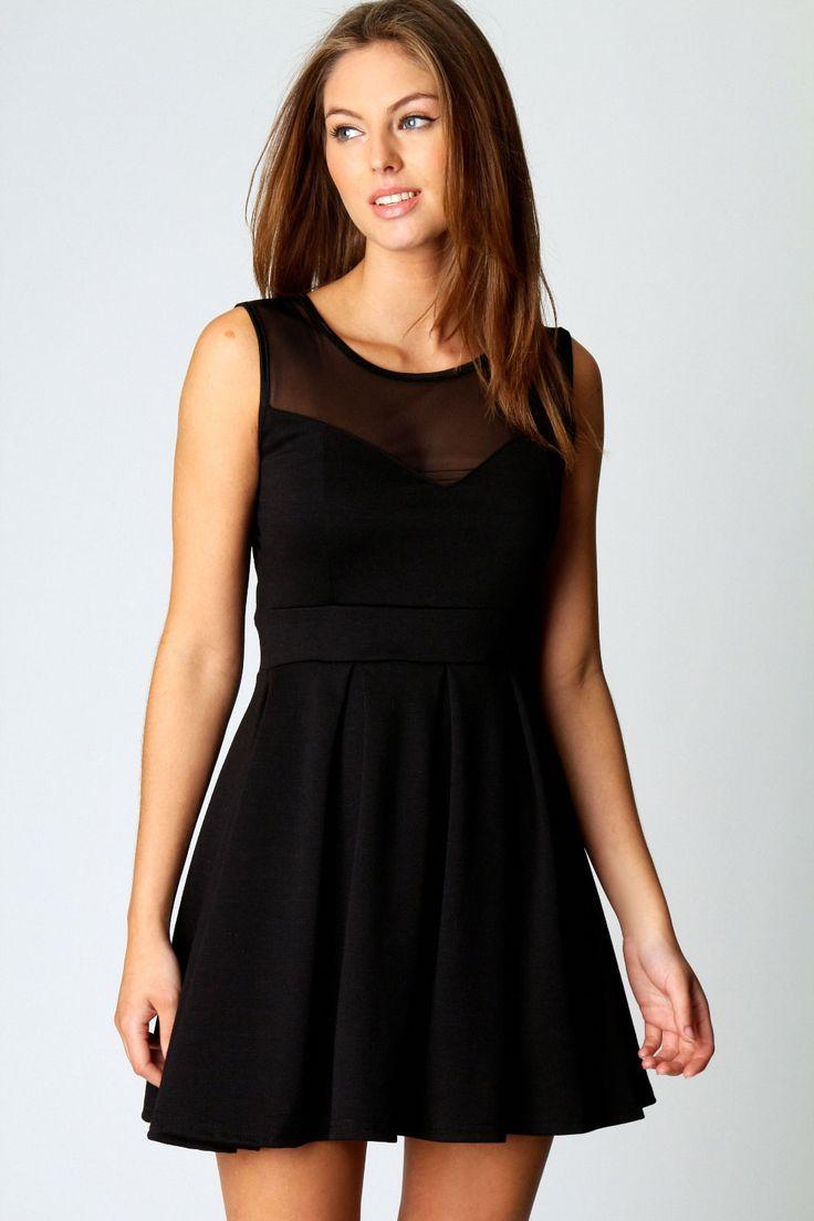 Boohoo Cheryl Skater Dress