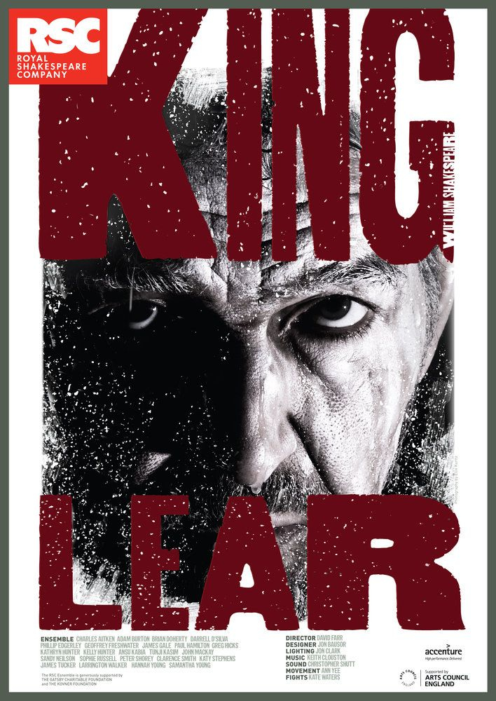David Farr, King Lear - Shakespeare, 2010