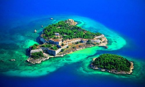 Gramvoussa, and the Balos lagoon
