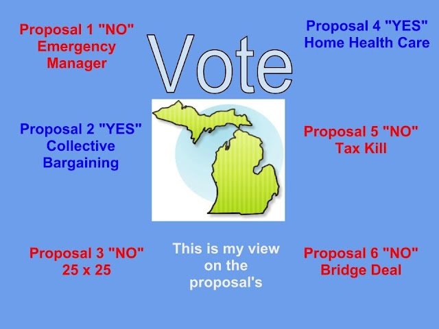 Michigan's Proposals for this November