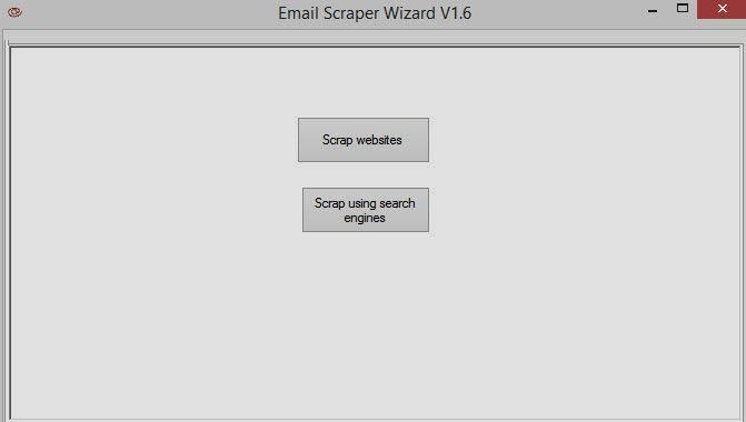 Download free ubots: Email Scraper Wizard V1.6