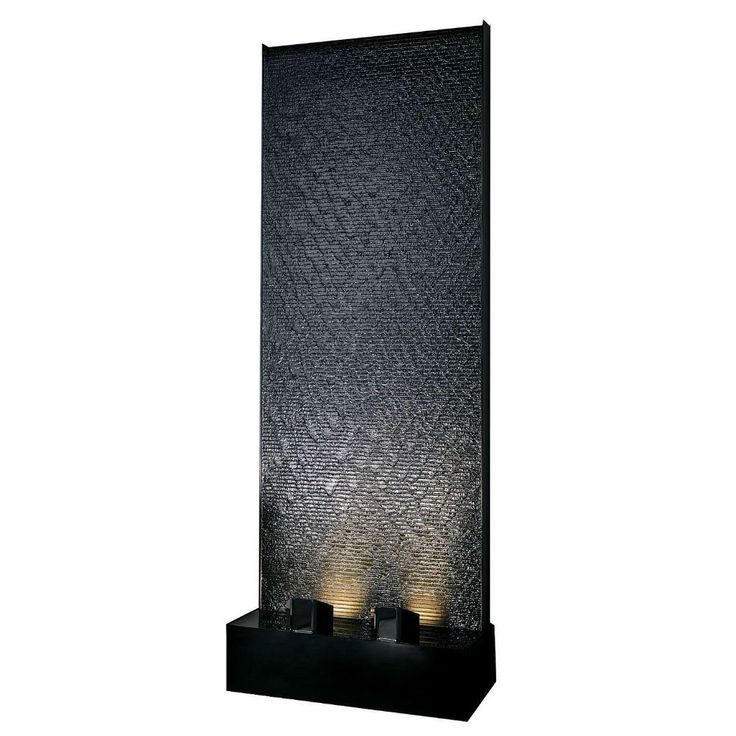 Midwest Tropical AquaFall Waterfall Wall Indoor Floor Fountain