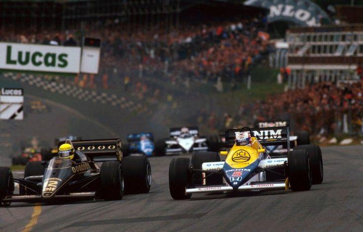 Ayrton Senna vs Nigel Mansell (Great Britain 1985)
